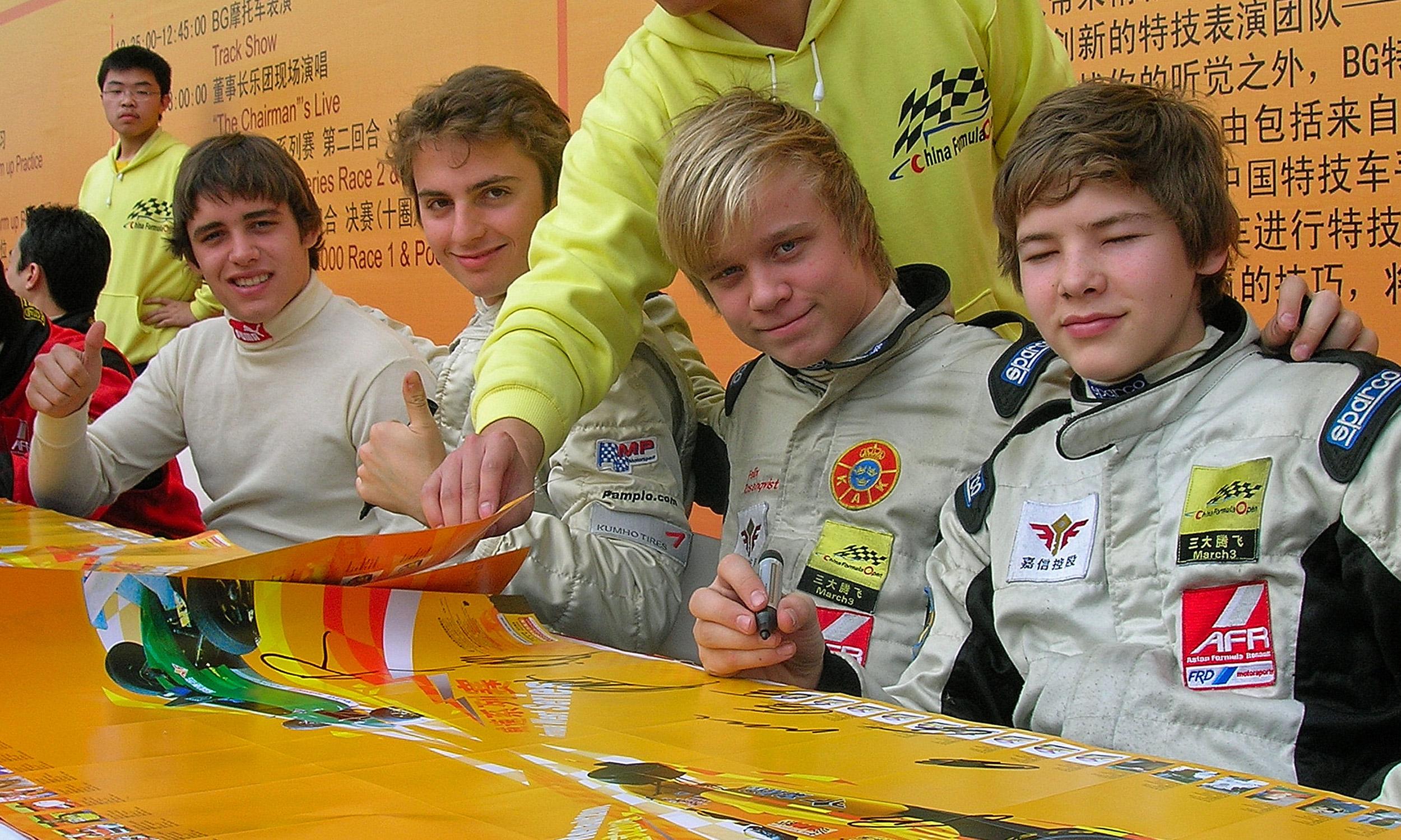 2007 - Formel Renault 2.0 Asien
